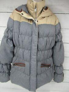 Hooded Zip Jakke H801 Puffer M Full Ublar Størrelse 38 Womans Downfilled Parka 0UwZnqx