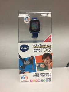 Brand-New-Vtech-Kidizoom-Smartwatch-DX2-Smart-Watch-Royal-Blue-Factory-Sealed