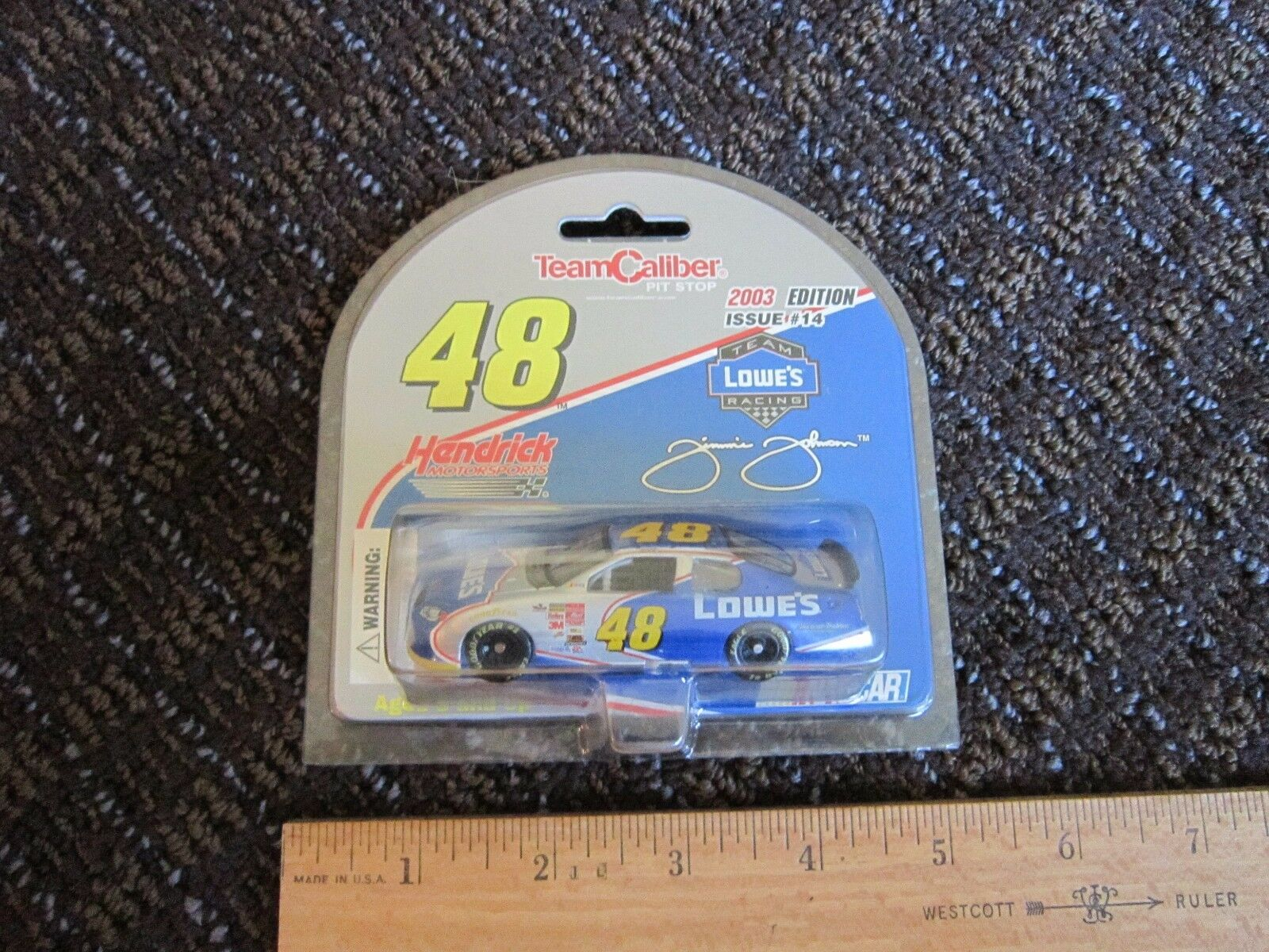 NASCAR Team Caliber Pit Stop 2003 Edition Issue Team Lowe's  64 Diecast