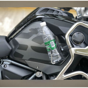Motorcycle-CNC-Water-Bottle-Rack-Holder-Adapter-For-BMW-R1200GS-ADV-2008-2017