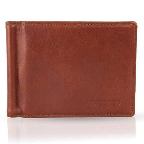 Bullazo FINO Hommes Véritable Cuir Portefeuille Porte-monnaie avec geldklammer /& RFID Protection