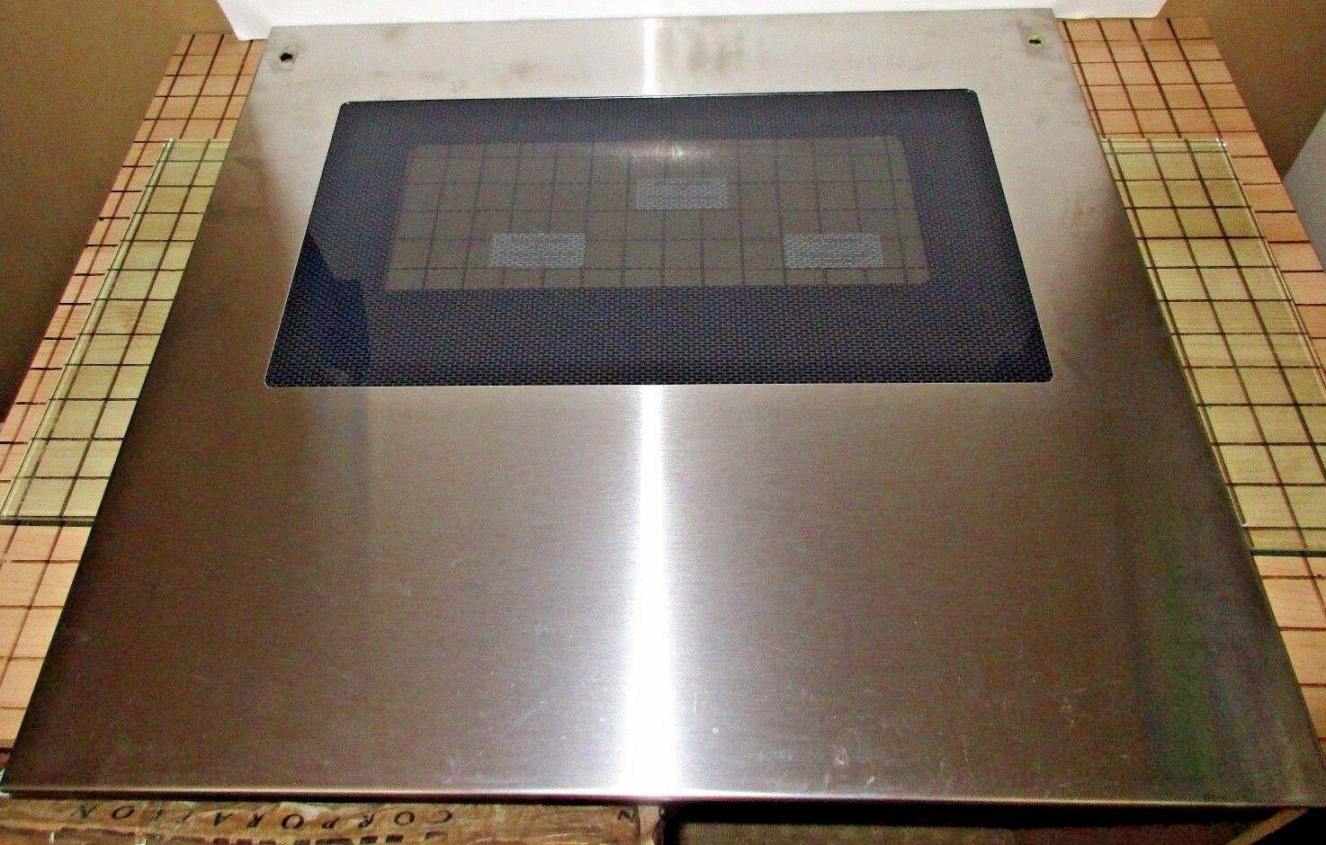 Thermador CMT227   MSC224S Door Panel SS  14-37-055-51,  00142715 SATIS GUAR