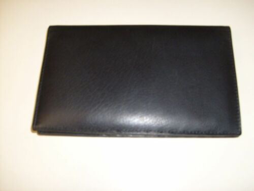 New Genuine Leather Credit Card Holder Wallet 19 Card Slot 1 ID Window