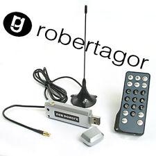 TV DIGITALE TERRESTRE TV STICK USB HDTV  DVB-T TELECOMANDO ANTENNA PC DECODER