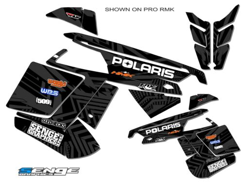 2011 2012 2013 2014 POLARIS PRO RMK SWITCHBACK PRORMK GRAPHICS KIT DECO WRAP