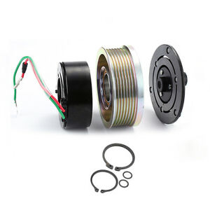 image is loading ac-a-c-compressor-clutch-kit-pulley-bearing-coil-