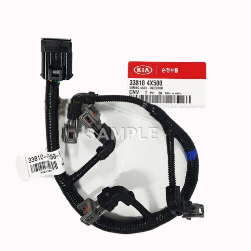 Injector harness Wiring Assy 338104X500 for Kia 2001-2009 Sedona Carnival