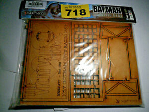 HonnêTe Knight Models Batman Miniatures Game Gotham City Panneau Mdf Rare Lot Y718-afficher Le Titre D'origine