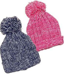 BabyPrem Baby Childrens Winter Hats Boys   Girls Knitted Pom Pom Hat ... 7093e3bc133