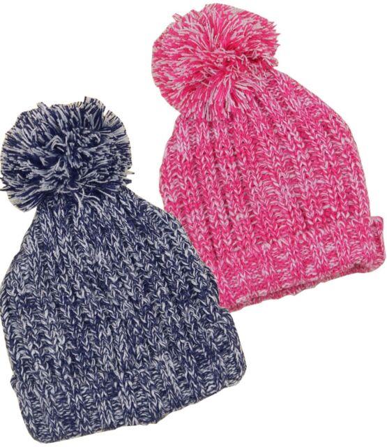 BabyPrem Baby Childrens Winter Hats Boys   Girls Knitted Pom Pom Hat 1 - 4yr d398d3b18f5c