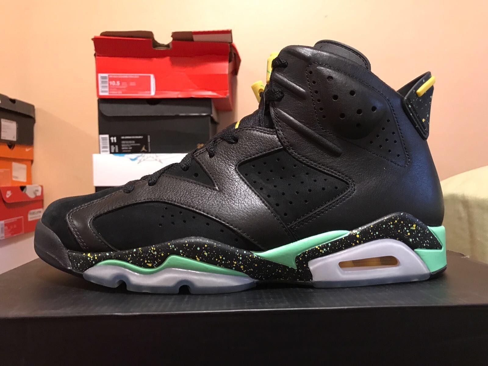 Nike Air Jordan VI 6 Brazil Pack QS Infrared Premium 688446 020 World Cup