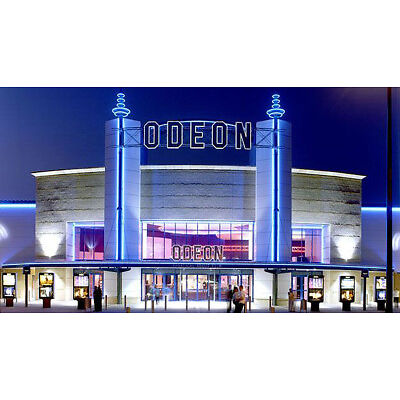 4 x Odeon cinema ticket Adult & kids All UK
