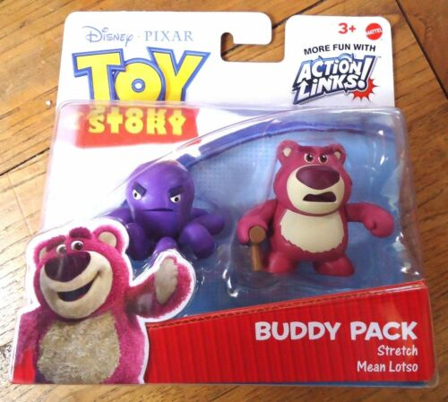 FIGURINE  TOY STORY BUDDY PACK STRETCH AND MEAN LOTSO