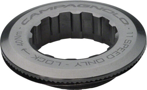 Campagnolo 27.0mm Aluminum Lockring for 12t First Cog 11 speed cassette