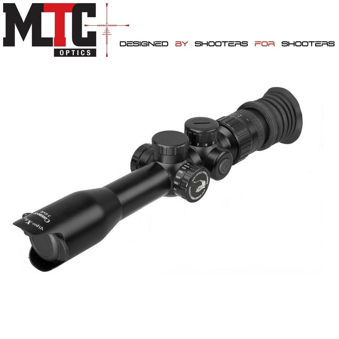 MTC Viper Connect Scope 3-12x32 Illuminated Reticle AMD or SCB2 Shooting Hunting