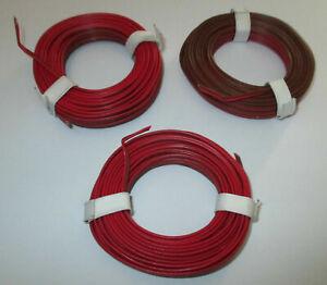 0-397-M-Conducteur-Jumele-3-X-5m-Rouge-Braun-Neuve
