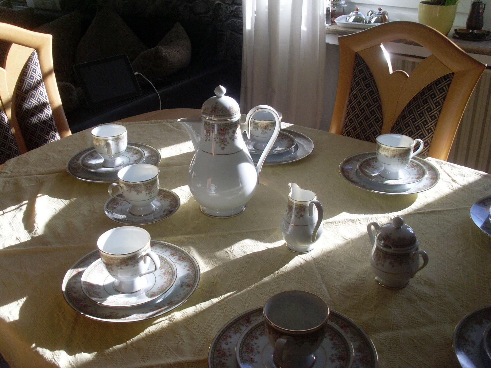 NORITAKE 7 personnes. Service à Café Morning Jewel