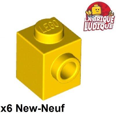 Knob on 1 Side 50 Pcs LEGO 87087 Yellow 1x1 BRICKS 1 x 1 w// Stud