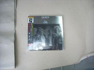 QUEEN-THE-GAME-JAPAN-CD-MINI-LP-mark-on-the-front-of-paper-sleeve