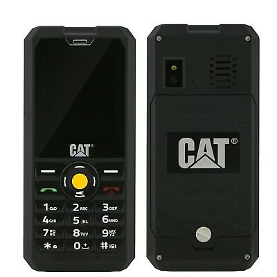 BNIB Caterpillar CAT B30 Dual-SIM IP67 Black Factory Unlocked 3G 2G GSM Boxed 5060280968730 | eBay