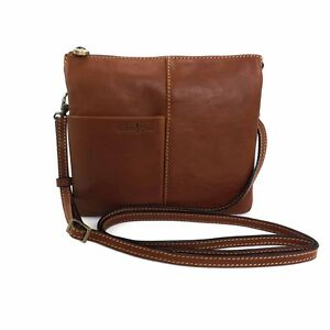 Image Is Loading Gianni Conti Shoulder Organiser Bag Italian Leather Style