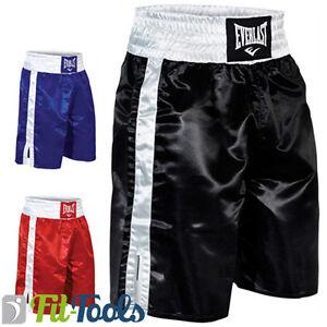 Everlast De Boxing Boxeador Detalles Short Boxeo trunks cortocircuitos Del pantalones Pro TFK1J35luc