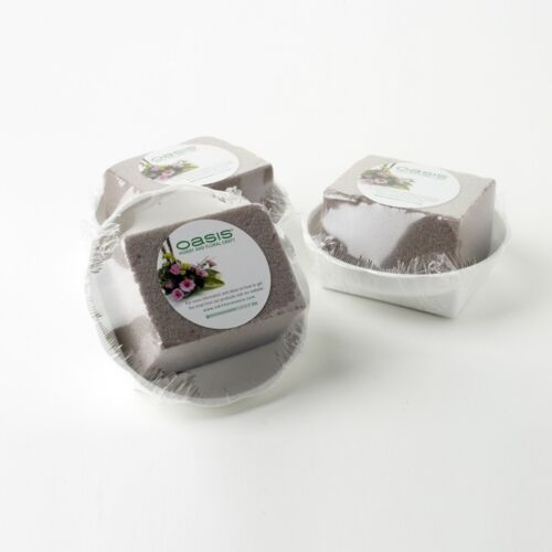 Ciotola rotonda-Oasis ® sec floreale schiuma Floreale Matrimoni Casa SKU 7733