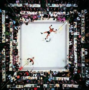Muhammad-Ali-vs-Cleveland-Williams-CANVAS-WALL-ART-PICTURE-20X20-INCHES