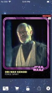 Topps-Star-Wars-Digital-Card-Trader-Pink-Obi-Wan-Kenobi-2018-Anniversary-Insert