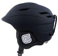 Grayne Mtn Ski And Snowboard Helmet Black W/audio Ready Liner....ride On