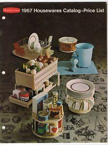 Vintage-034-Rubbermaid-1967-Housewares-Catalog-Price-List-034