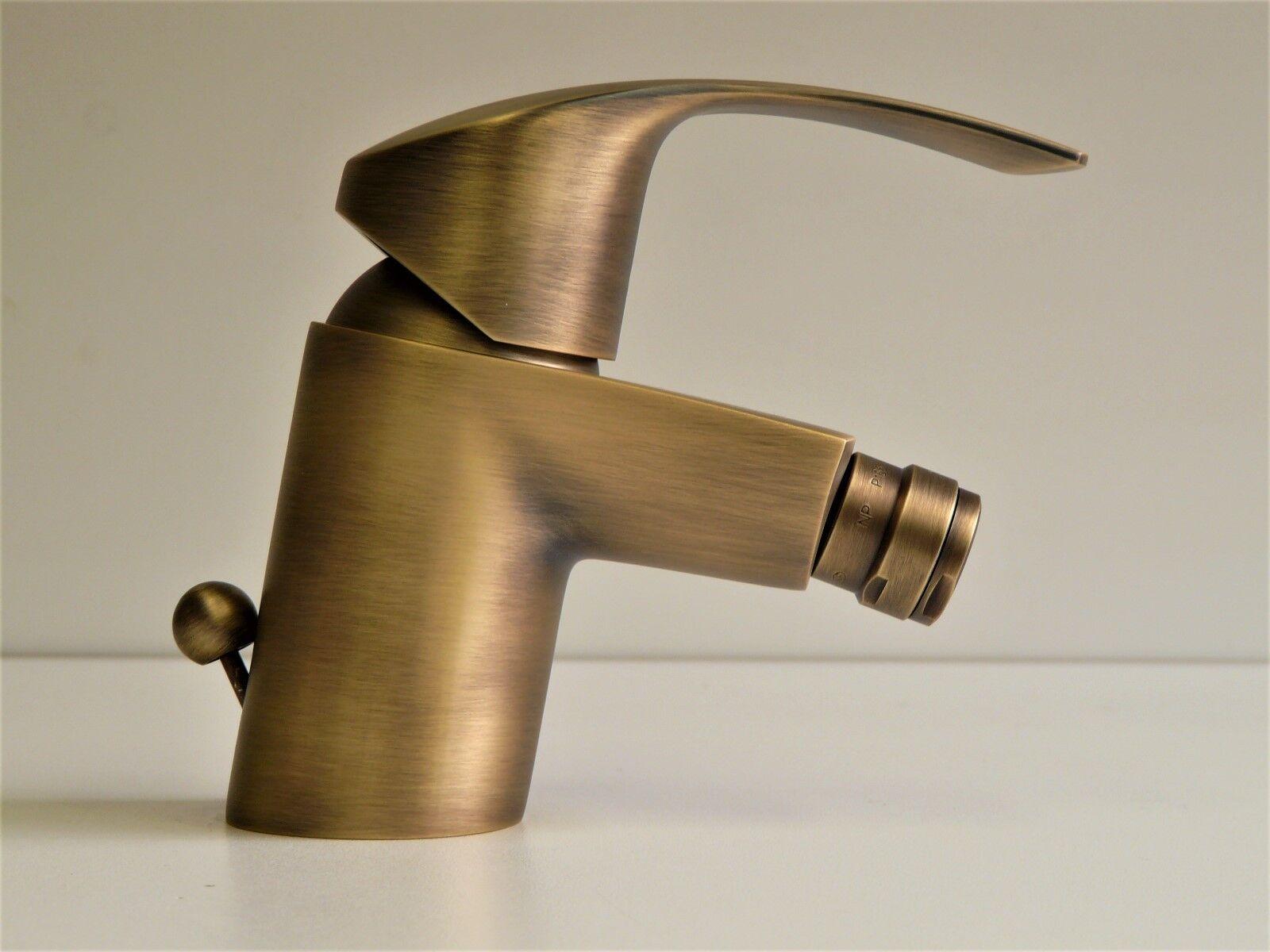 Grohe Eurosmart Bidetarmatur Bronze, Bidet-Einhebelmischer, Bidet, Bad