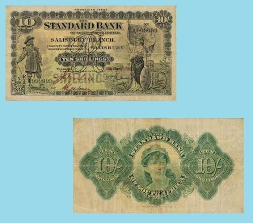 Reproductions Rhodesia 10 Shillings 1938 UNC