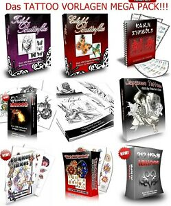 DOWNLOAD-Tattoovorlagen-Mega-Nischen-Pack-TATOWIERUNGEN-VORLAGEN-TATTOOs-eBOOK