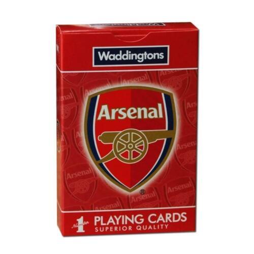 Arsenal FC Waddingtons numéro 1 Cartes à Jouer