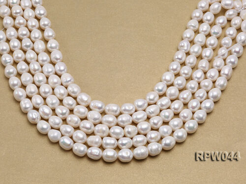 """Natural Freshwater Cultured Pearl Strands Strings for Women Necklace Jewelry 15/"""""""