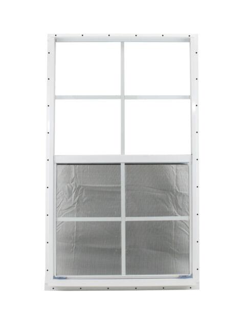 Jalousien Discount 24.24 X 36 Shed Window White Safety Tempered Glass 2 Each Garage Barn Storage