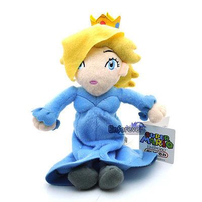 "New Super Mario Bros 9.5""Galaxy Princess Rosalina Cute Plush Toy Doll ^MX1982"
