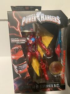 sdcc exclusive power rangers red ranger