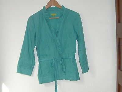 "100% Quality Veste Couleur ""turquoise"" Marque ""solola"" Agreeable To Taste Women's Clothing"