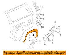 NISSAN OEM 00-04 Xterra Ext-Wheel Well Fender Flare Arch Molding Left 938297Z400