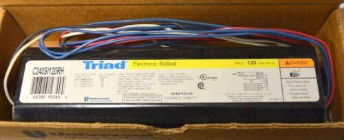 120Volt 2 Lamp-40 Watt CFL Instant Start-0.88 Fac Universal Triad C240SI120RH-