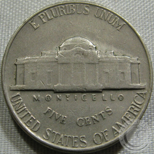 1942-P Jefferson Nickel Circulated
