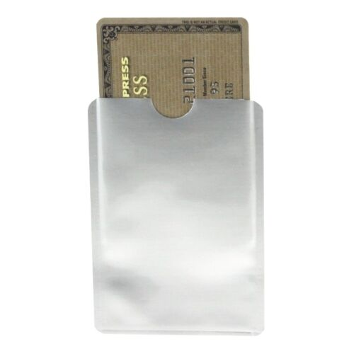 1000 x RFID BLOCKING OYSTER CREDIT DEBIT CARD IDTHEFT PROTECTION SLEEVE ENVELOPE