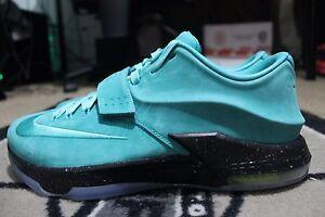 68e031b8fc7 New Nike KD 7 VII NikeiD ID Size 12.5 Suede Teal  Black