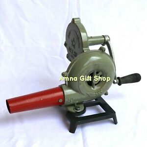 Forge-Furnace-For-Blacksmith-Vintage-Style-With-Hand-Blower-Pedal-Type-Handle