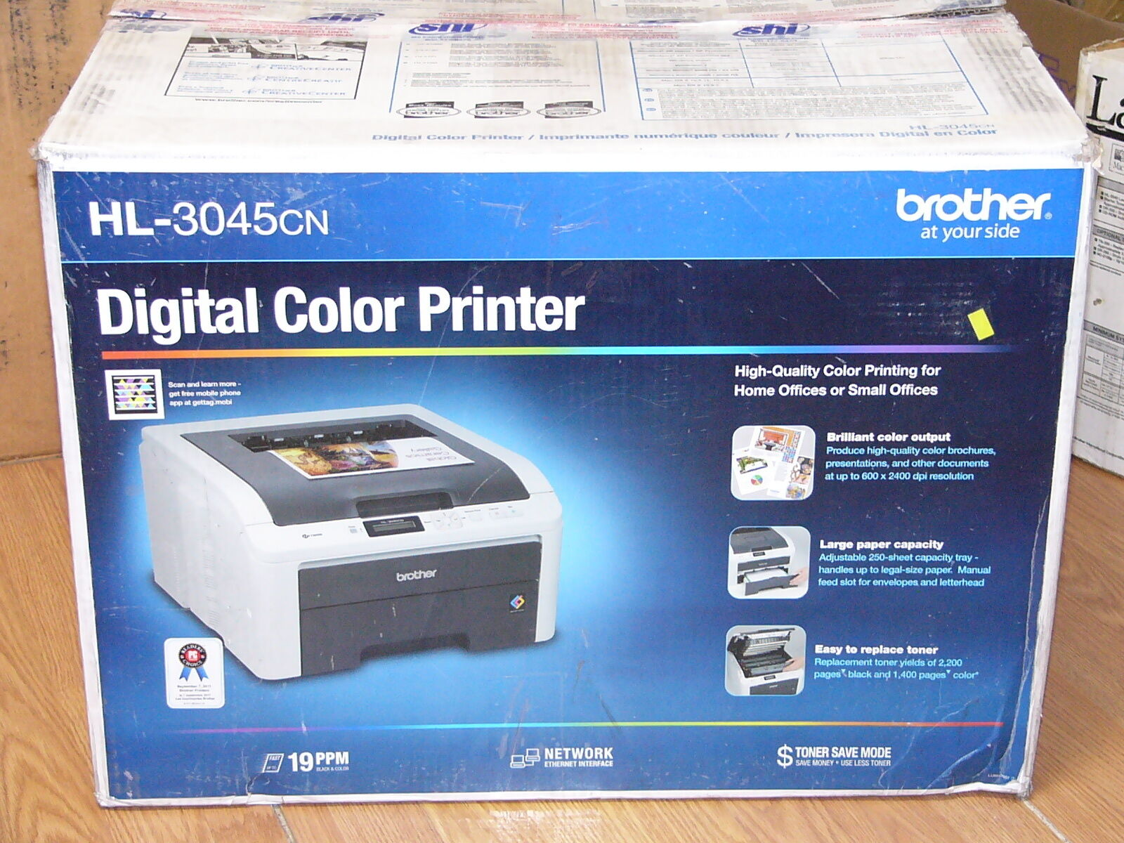 Brother HL-3045CN Printer Drivers for Windows XP
