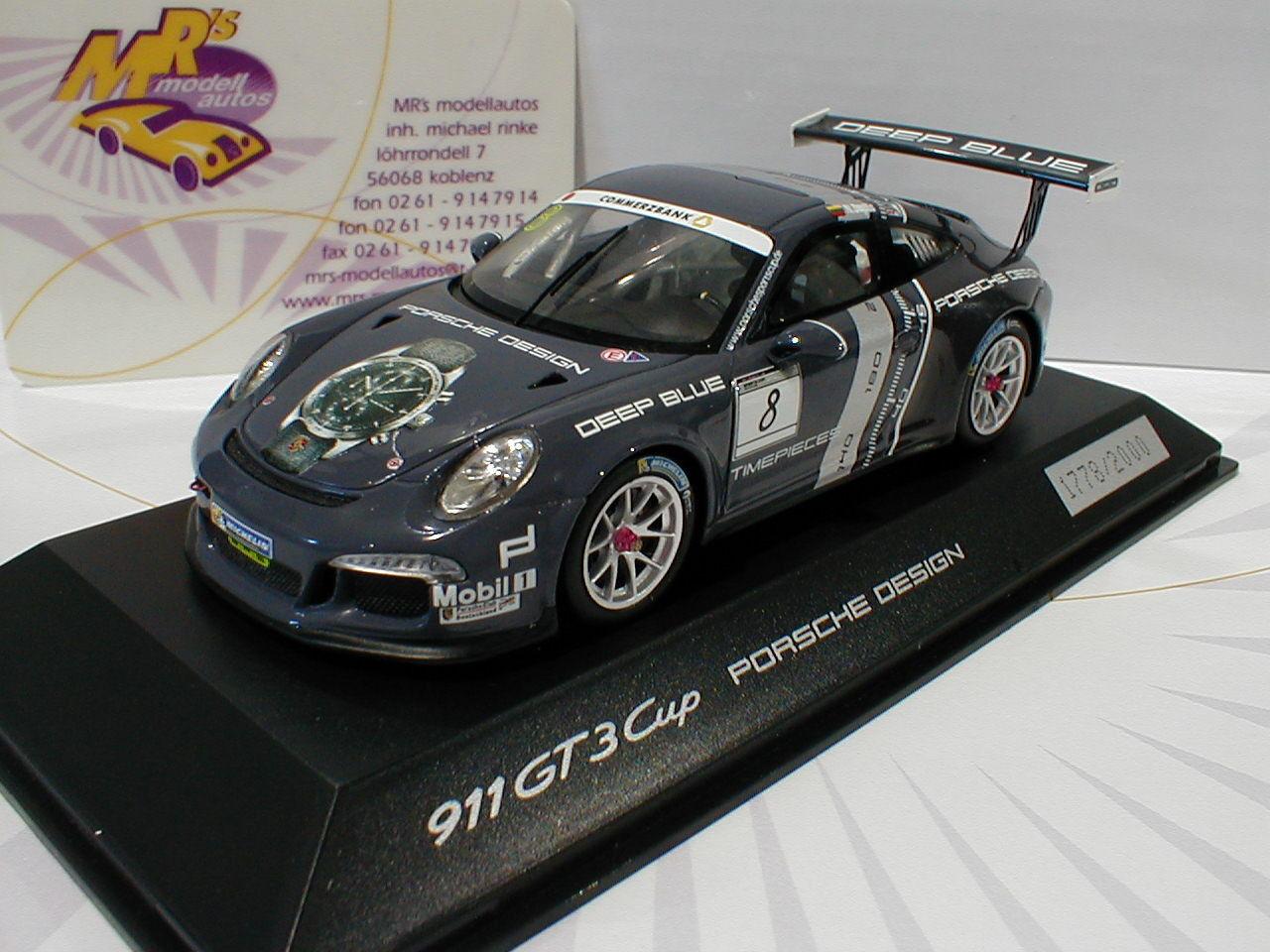 Spark Werbemodell Porsche Porsche Porsche 911(991) GT3 Cup No.8 Porsche Sports Cup 2016 1 43 8c0ee5