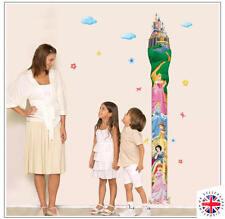 NURSERY HEIGHT GROWTH CHART Wall Sticker KIDS BOYS GIRLS DISNEY PRINCESS