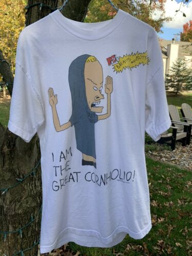 Vintage Beavis And Butthead Cornholio Shirt Rare D